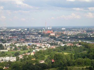 Widok z Kopca Kościuszki