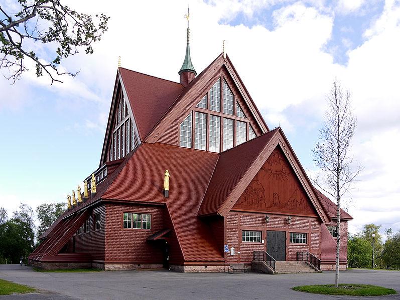 Zabytkowy kościół z 1912 roku w Kirunie zostanie odbudowany w nowym mieście w pierwotnej formie.
