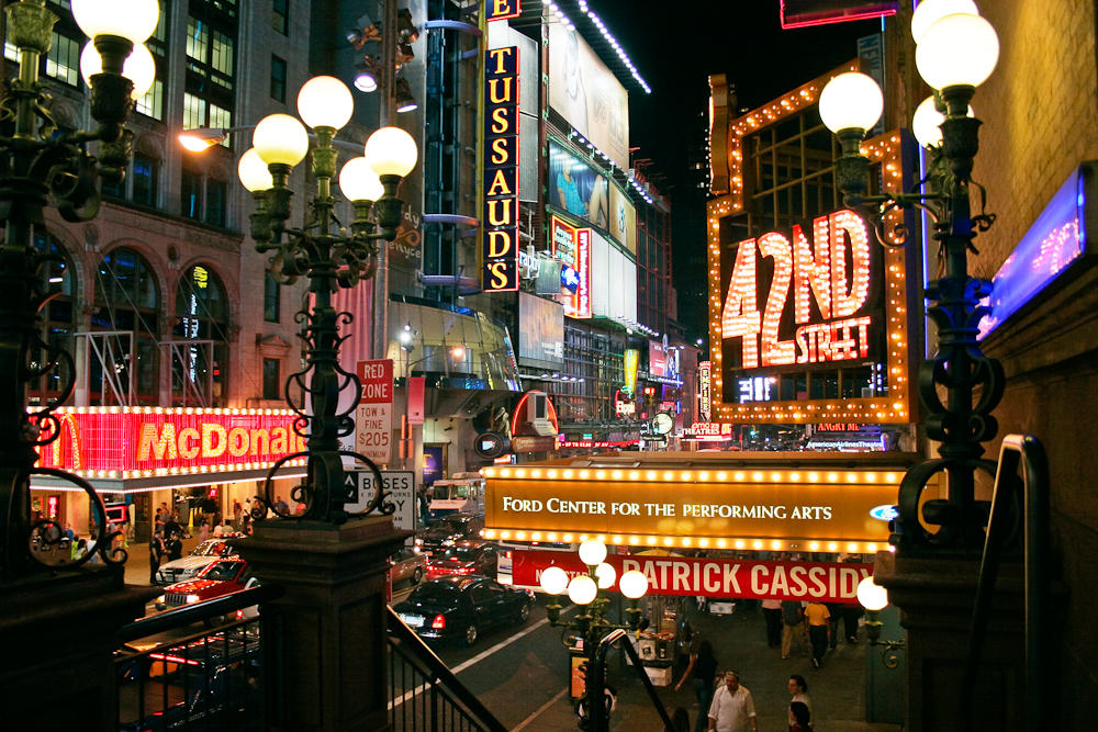 42nd Street in New York