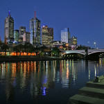 Melbourne, źródło: http://commons.wikimedia.org/wiki/File:Melbourne_skyline_at_night.jpg