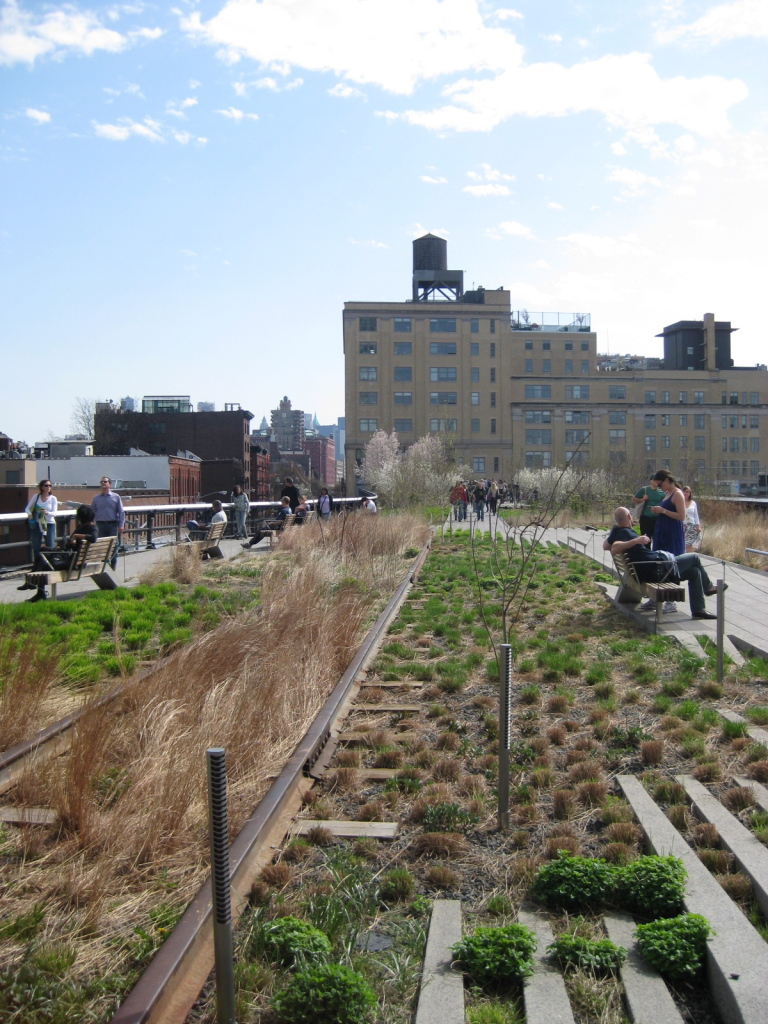 Highline NYC, Źródło: commons.wikimedia.org