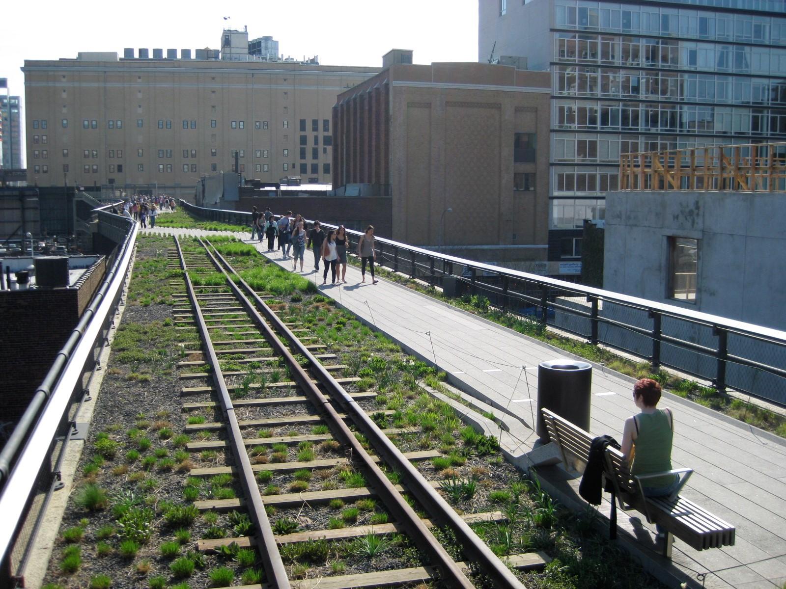 Reconstructed tracks at 20th Street Źródło en.wikipedia.org