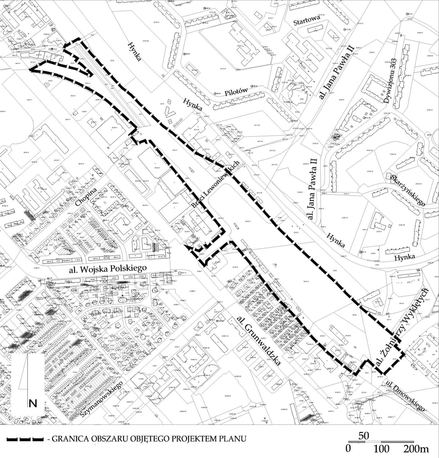 Gdansk Wrzeszcz plan 0848