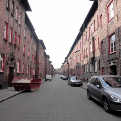 Ryc. 6. Budynki mieszkalne w osiedlu Nikiszowiec, źródło fot. Milena Stettner