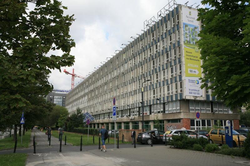 Budynek Wydziału Inżynierii Lądowej PW; foto. SARP Warszawa