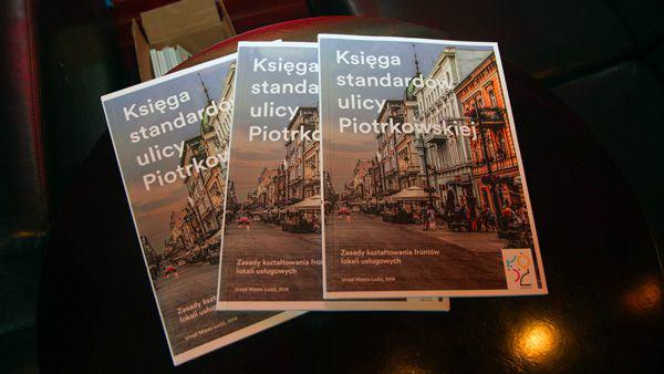 Łódź Piotrkowska Księga Standardów