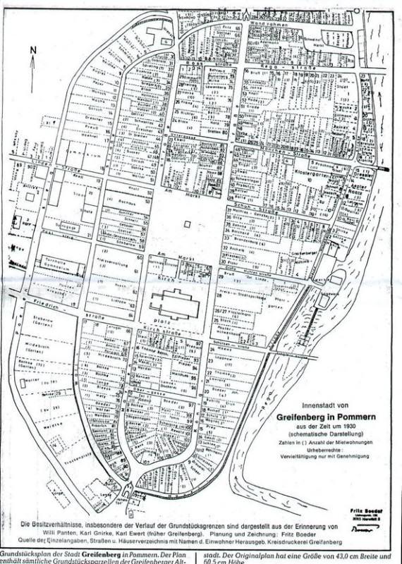 Plan_Starego_Miasta_(Gryfice_1930)