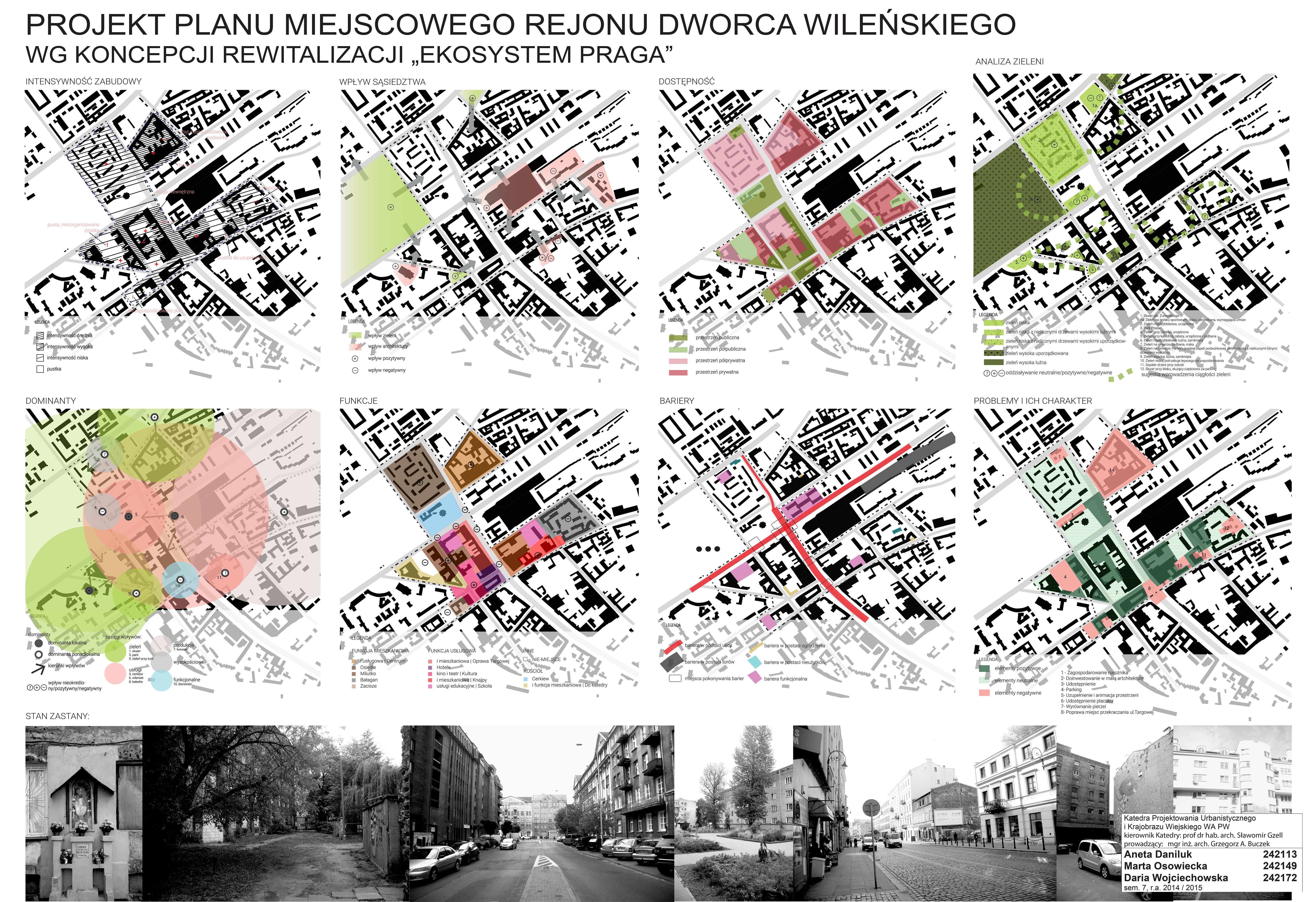 Projekt MPZP rejonu Dworca Wileńskiego