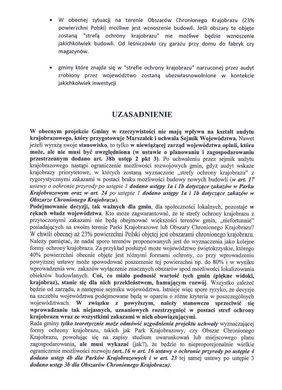 Zwiazek Gmin Wiejskich Ustawa Krajobrazowa 2