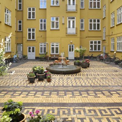 11landskab_Courtyard in Classensgade