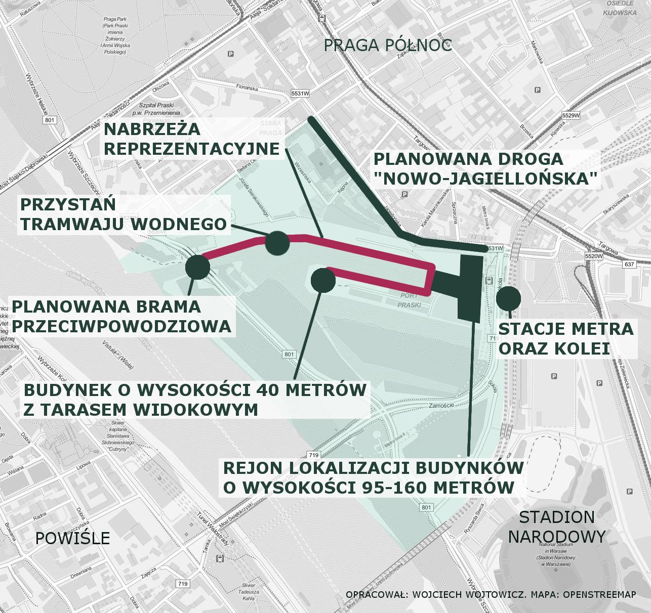 Port Praski grafika