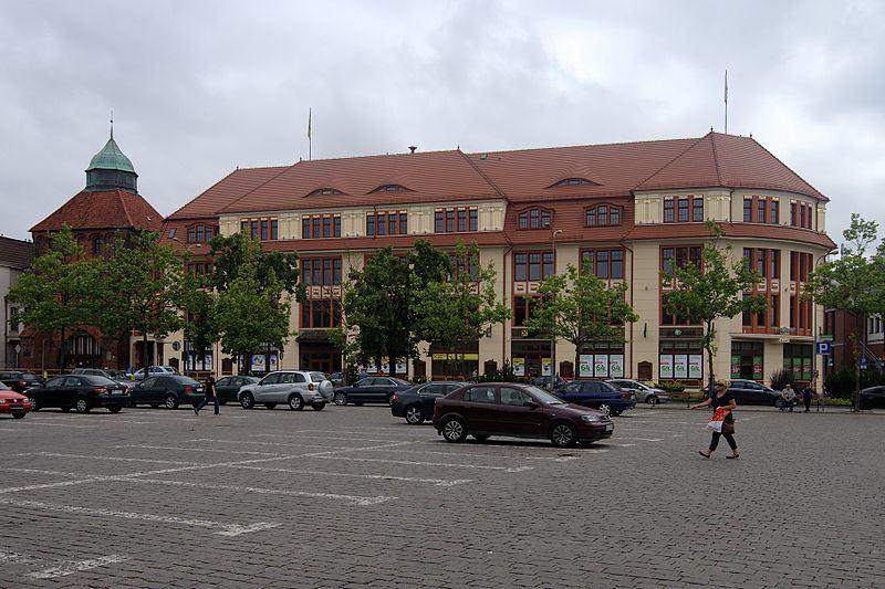 Plac Zwycięstwa w Słupsku