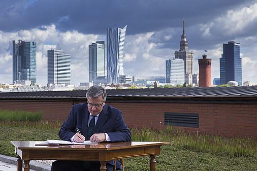 fot. Wojciech Olkusnik / prezydent.pl