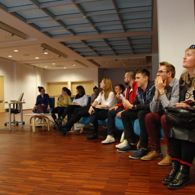 Fina+éowe prezentacje Strefa Startup PPNT  fot. Agata Bonis+éawska