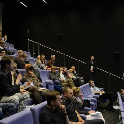 Panel konferencyjny PPNT  fot. Agata Bonis+éawska