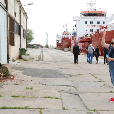 Spacer badawczy, Molo Rybackie Gdynia, DALMOR  fot. Agata Bonis+éawska
