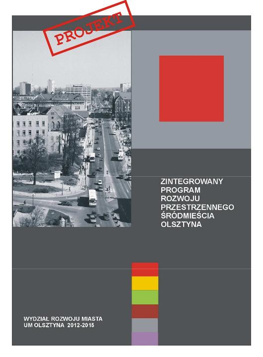 Zintegrowany Program Rozwoju Przestrzennego Srodmiescia Olsztyna