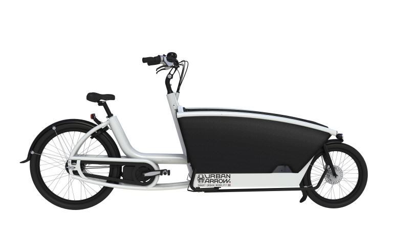 Elektryczny rower towarowy; źródło: Cykelbiblioteket
