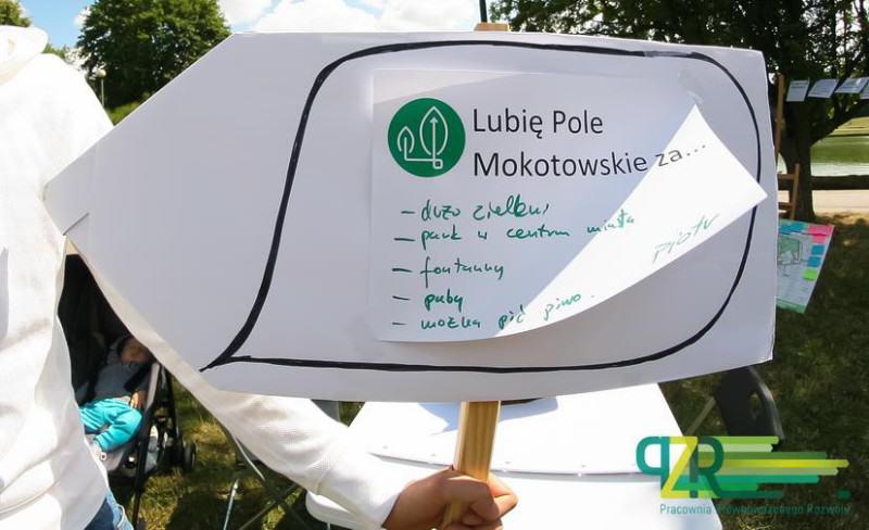 źródło: UM Warszawa - Raport z etapu konsultacji społecznych dotyczących funkcji Pola Mokotowskiego