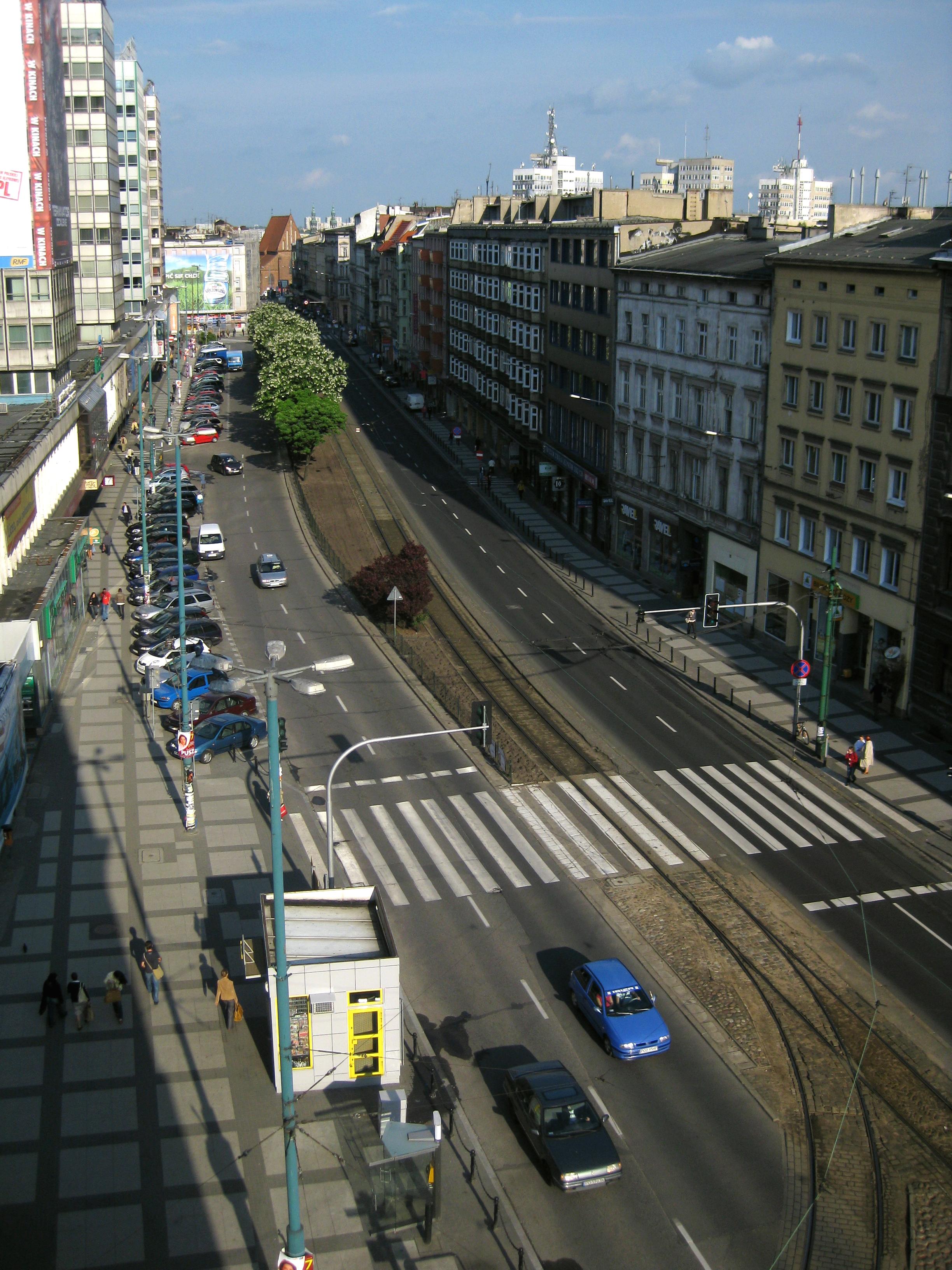 Ulica Św. Marcin w 2009 roku. Autor: Awersowy / Wikimedia Commons. Lic: CC-BY-3.0