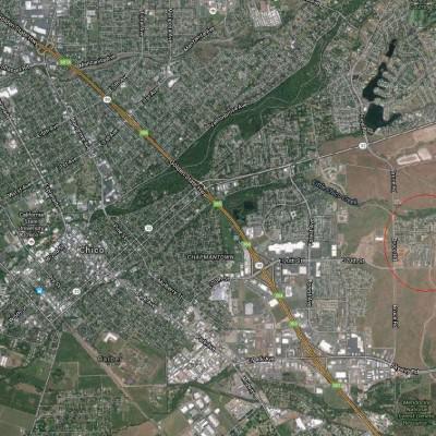 Lokalizacja osiedla Doe Mill, źródło: google maps