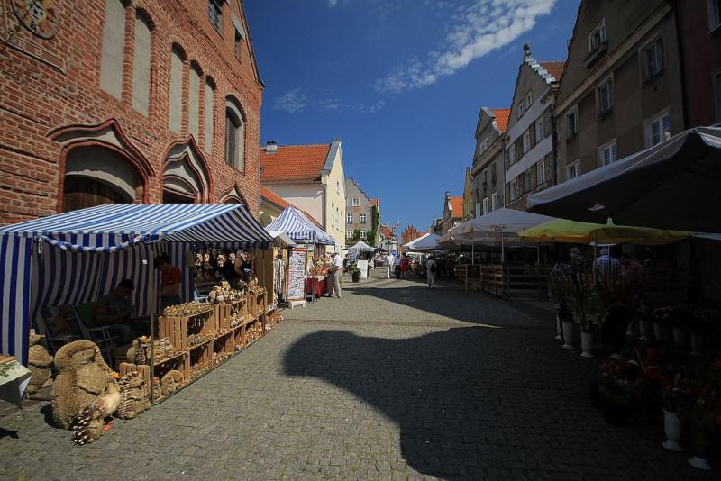 Rynek Starego Miasta w Olsztynie | fot. Mariusz Cieszewski / MSZ | źródło: flickr.com | lic. CC BY-ND 2.0