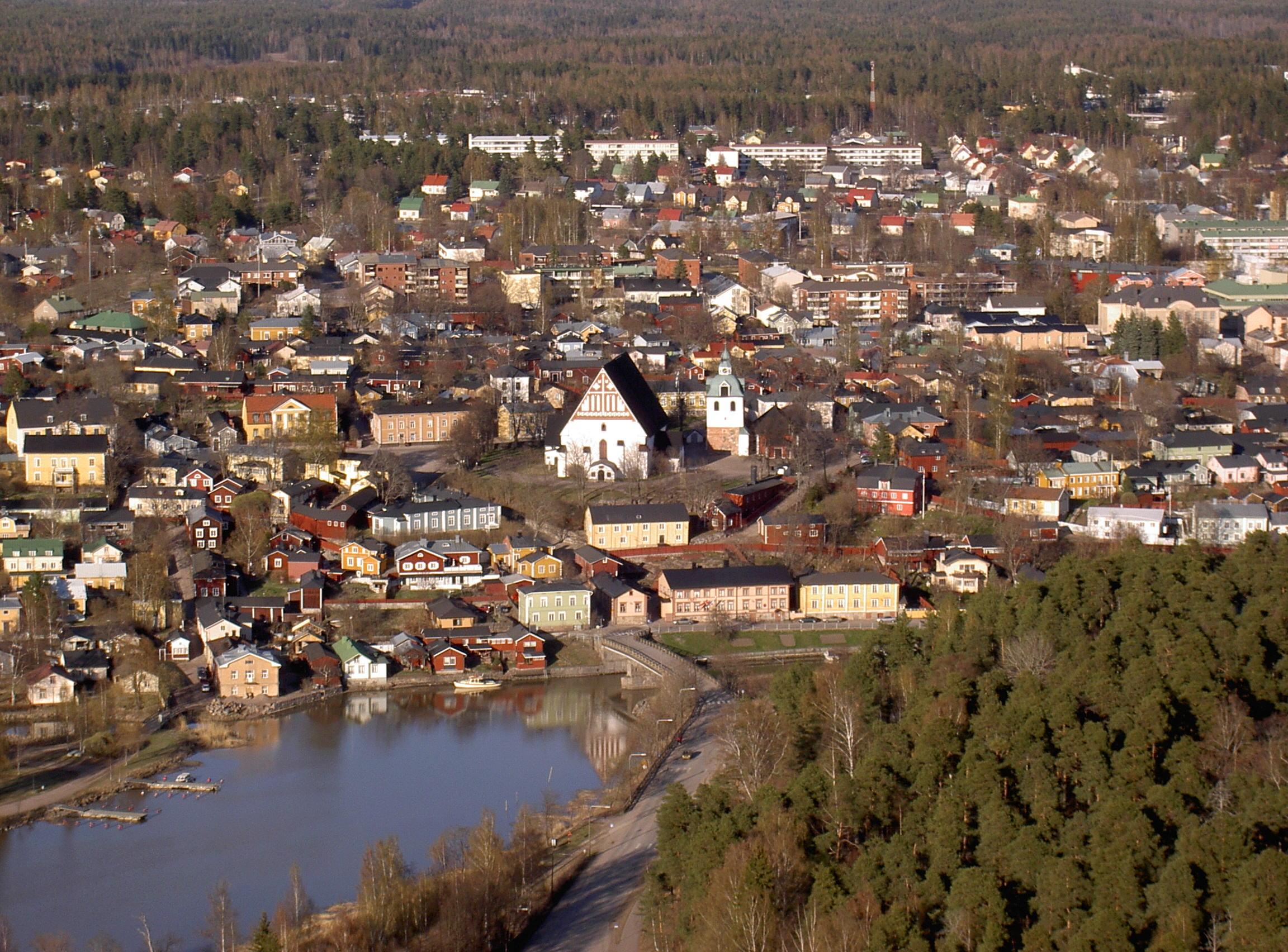 Porvoo_old_town