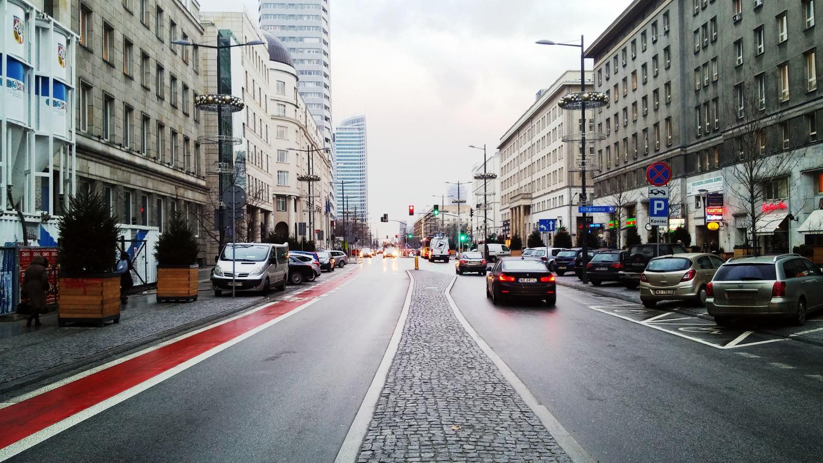 Ulica Świętokrzyska w Warszawie; fot. WW