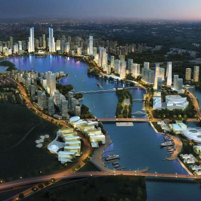Wilder Meixi Lake Eco-City