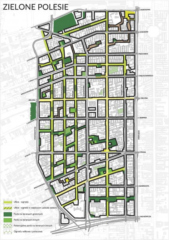 Mapa zielonych inwestycji na Starym Polesiu
