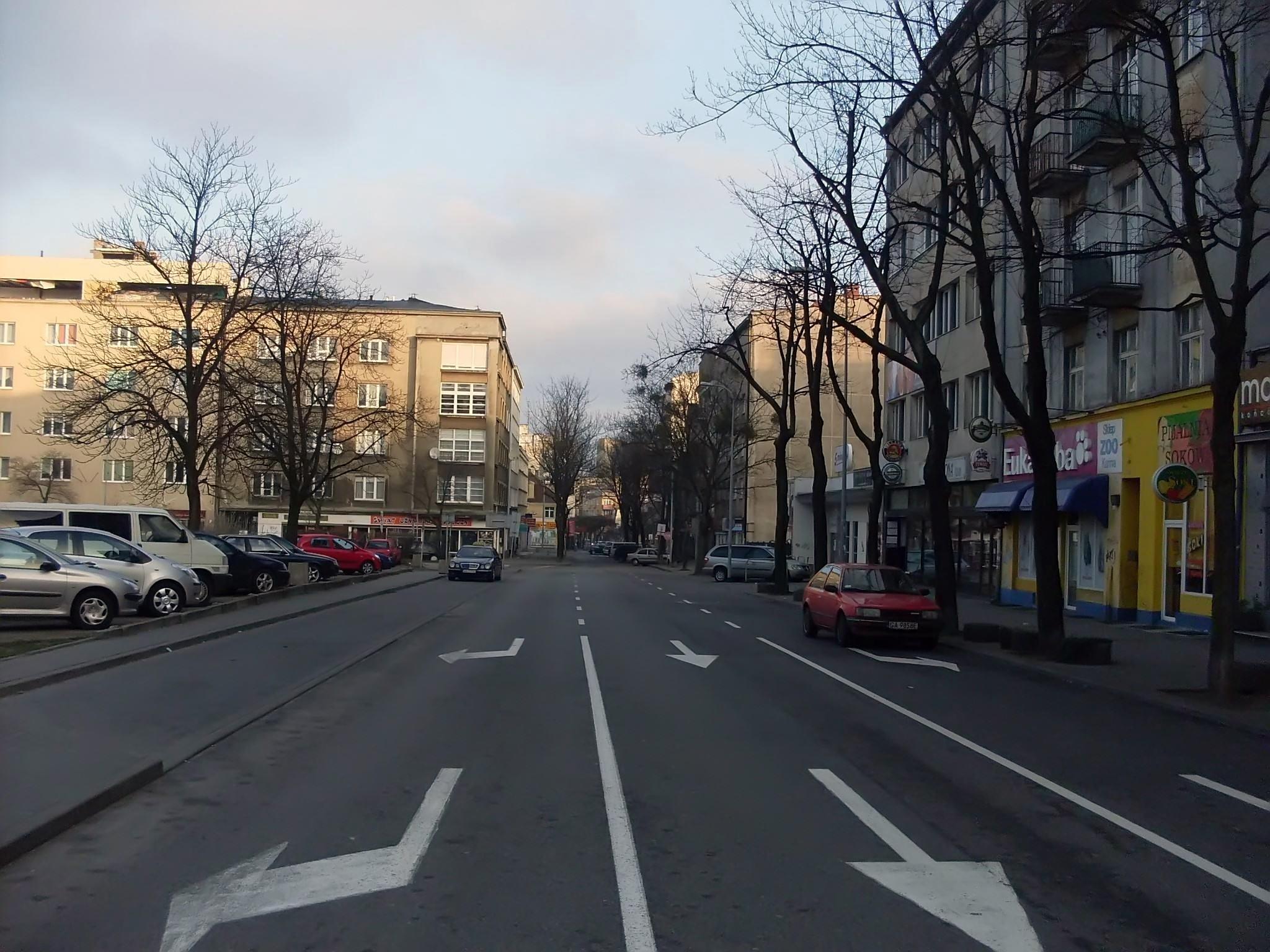 Ulica Abrahama w Gdyni | fot. Wikimedia Commons | Pomeranian | lic. CC-BY-4.0