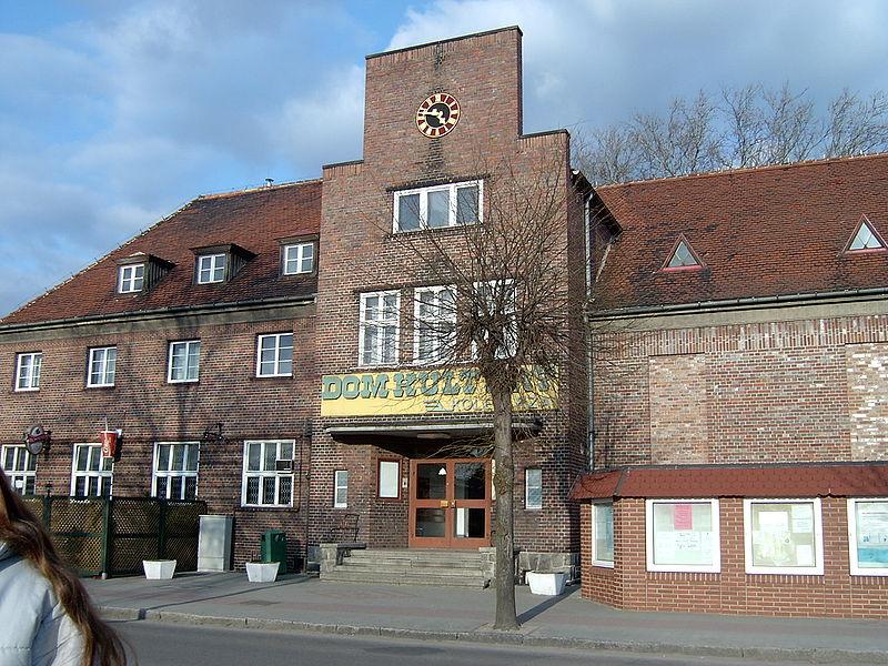 Dom Kultury w Zbąszynku | fot. Kruszynka85 | Wikimedia Commons | lic. CC-BY-2.5