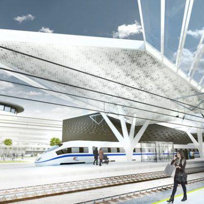 Koncepcja modernizacji stacji Warszawa Zachodnia | źródło: mat. PKP PLK S.A.