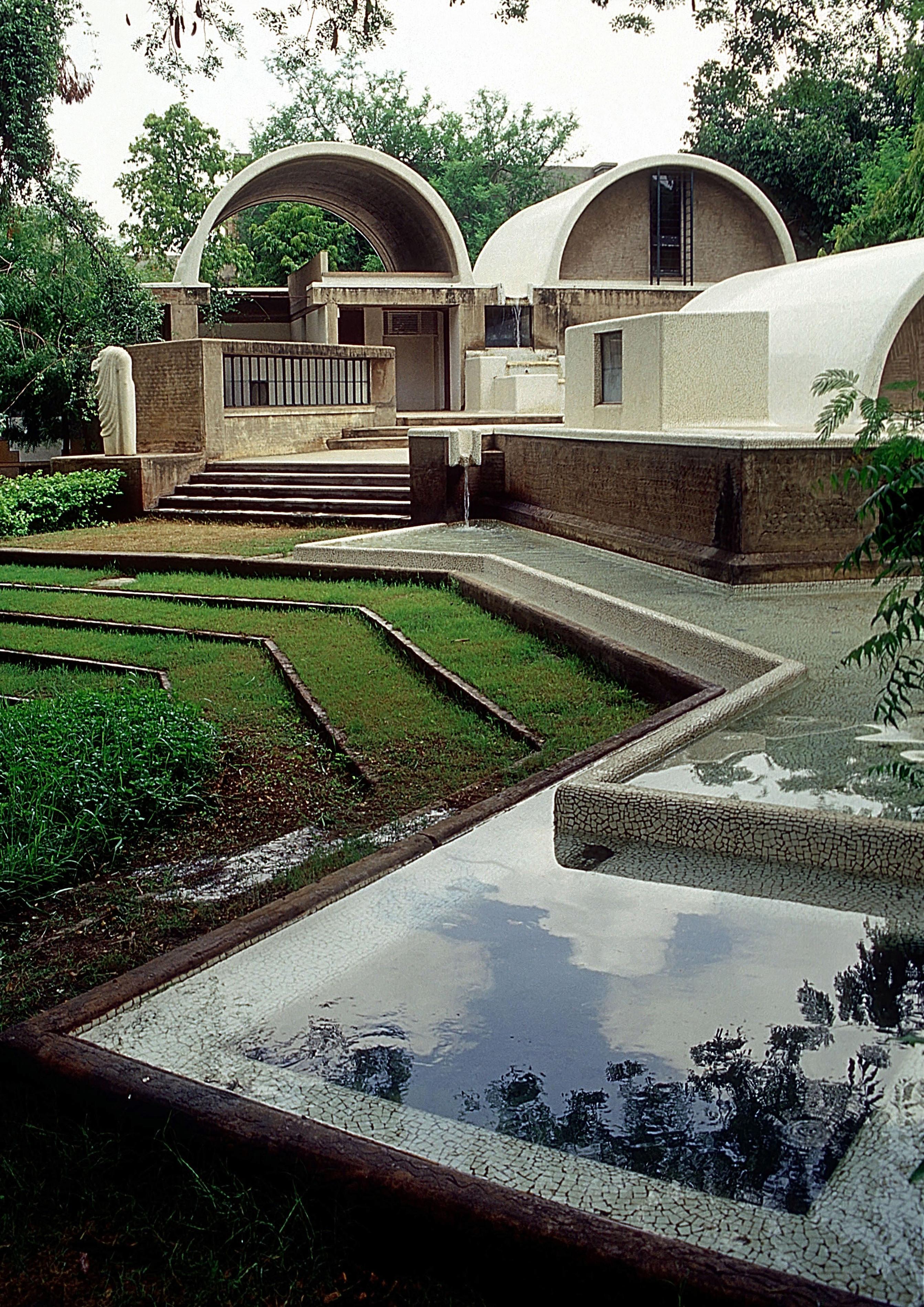 Sangath Architect's Studio (photo courtesy of VSF) pritzkerprizecom