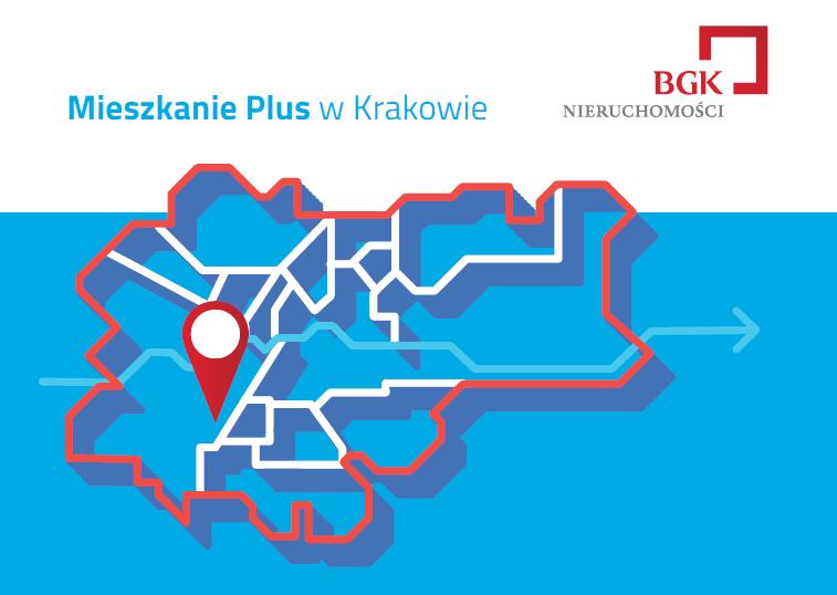 Mieszkanie plus Krakow mapa