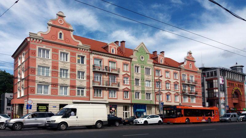 Kaliningrad Chruszczówki Królewiec Konigsberg