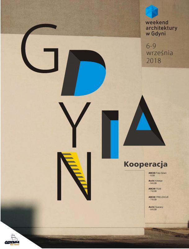 Plakat Grafika Weekend Architektury