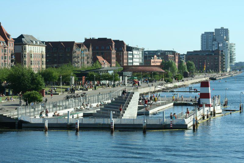 Kopenhaga basen Islands brygge