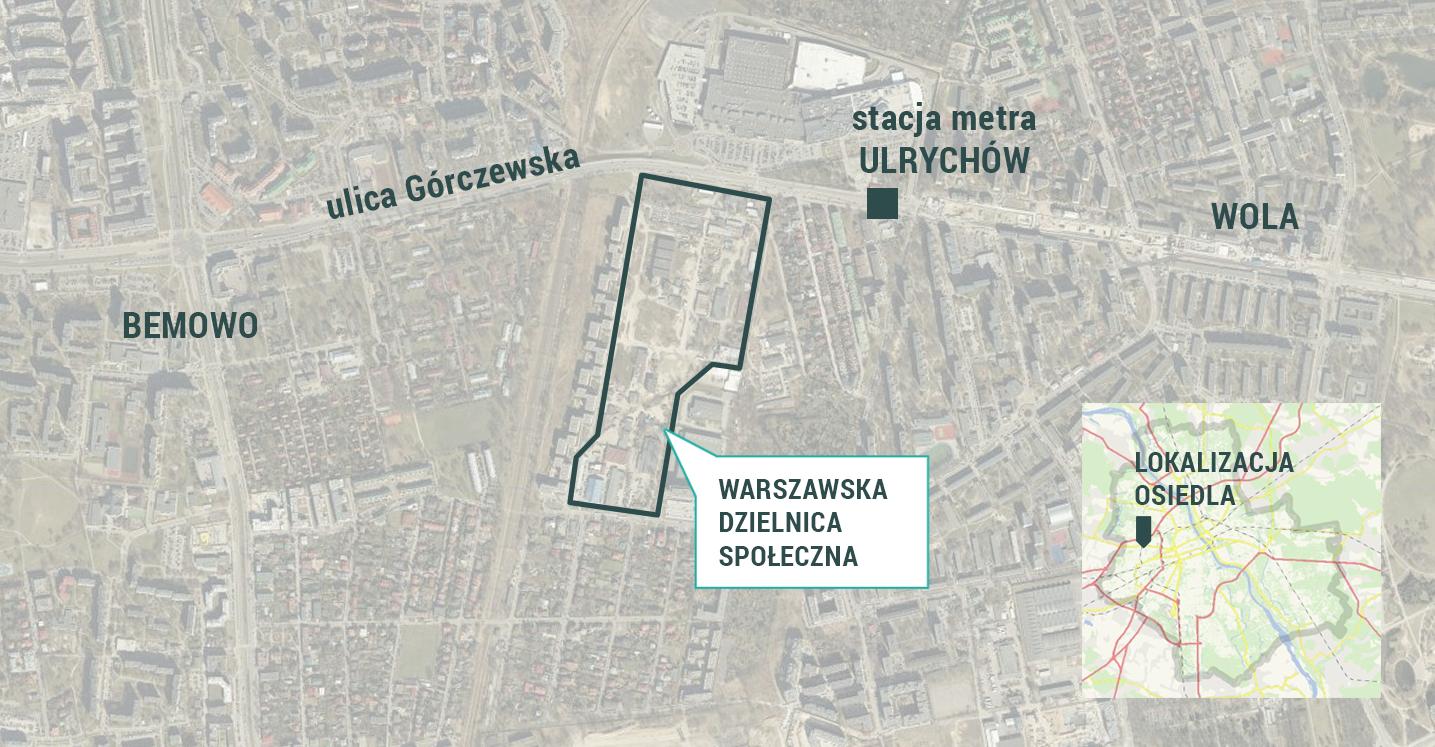 Warszawska Dzielnica Społeczna powstanie na Woli