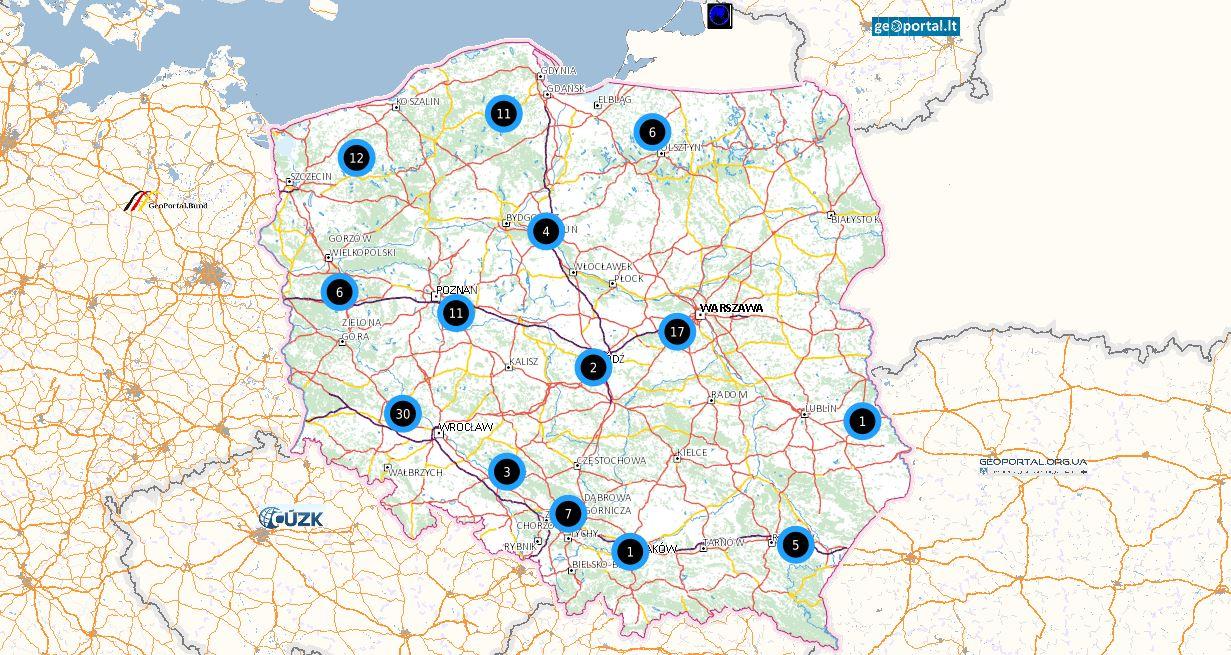 Mieszkanie Plus Polska mapa