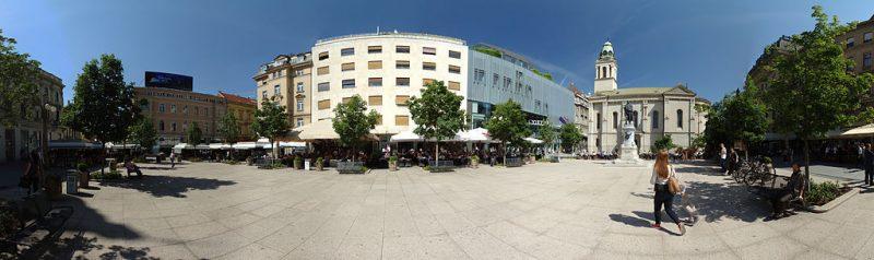 Cvjetni trg w Zagrzebiu