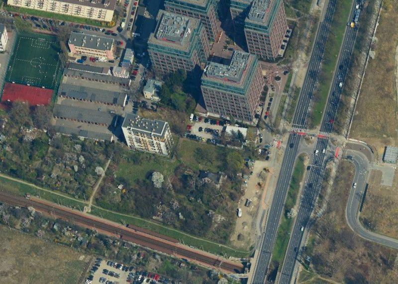 Wycinek z mapy ukośnej Warszawy / fot. ukosne.um.warszawa.pl / autor: MGGP Aero