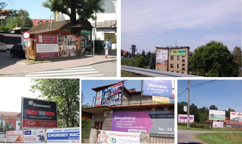 Reklamy w Wadowicach