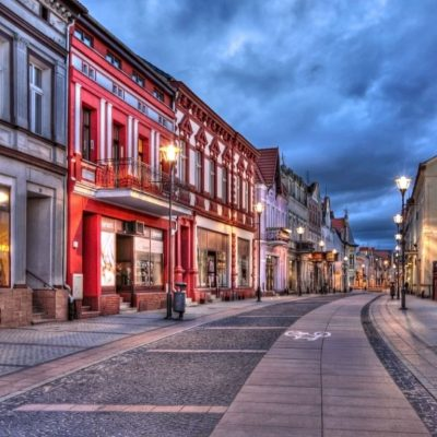 Przebudowa Placu Wolności i sąsiednich ulic w Czarnkowie | źródło: TUP Poznań