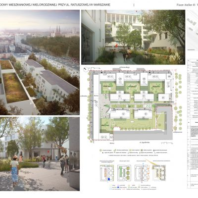 Projekt dla ulicy Ratuszowej | Fiszer Atelier