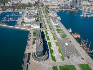 Zmiany na Molo Południowym w Gdyni | fot. Marek Łucyk / facebook