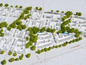 Wizualizacja osiedla Mieszkanie Plus we Wrocławiu | aut. BE DDJM źródło: PFR Nieruchomości