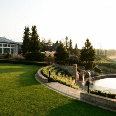 Niekończący się ogród w Zapceniu, Ogrody Strumyk