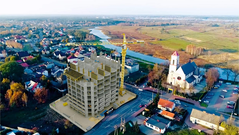 Wizualizacja prezentuje jak mogłaby wyglądać inwestycja w Wieluszewie | źródło: facebook/Pawel Kownacki