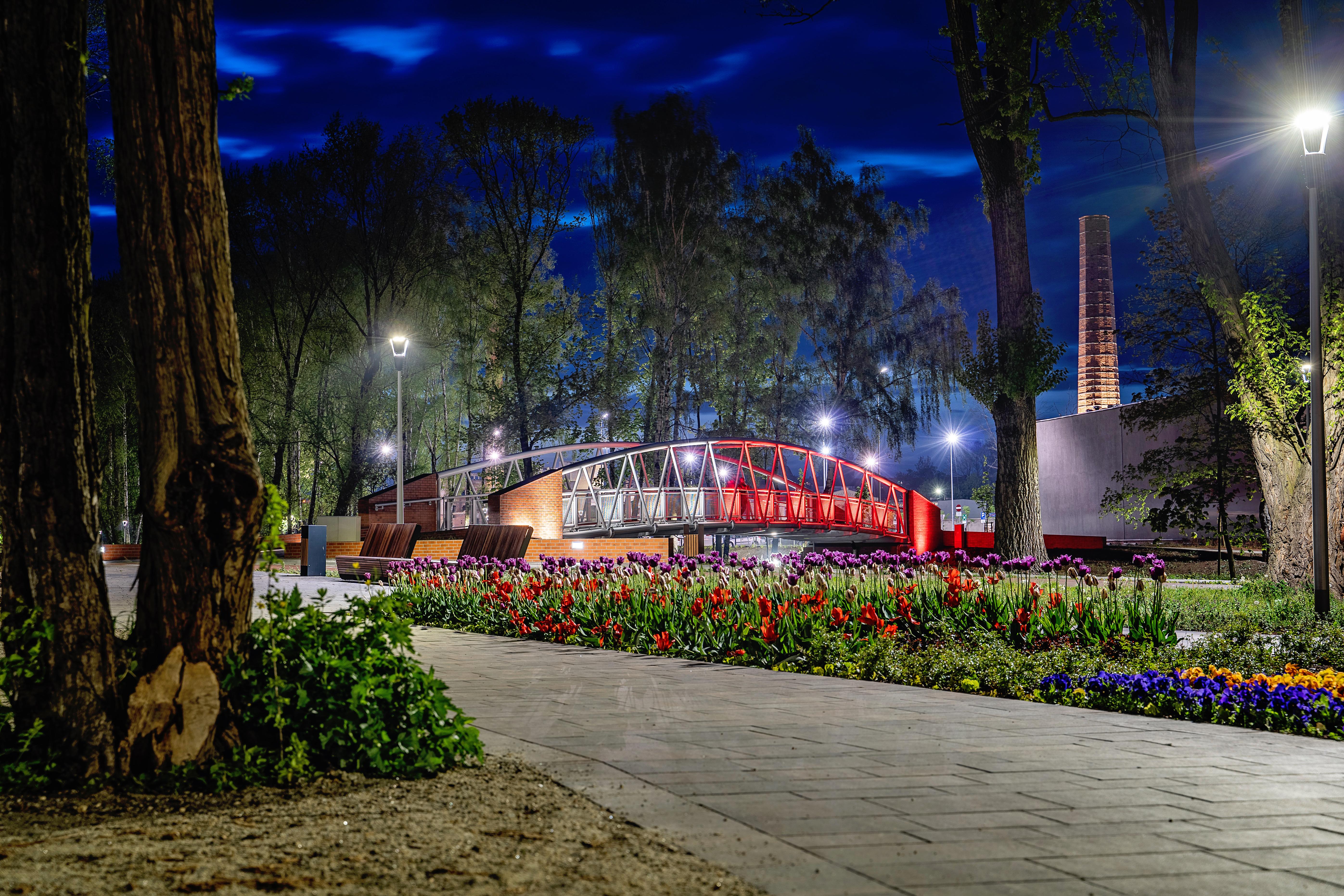 Park Bulwary w Tomaszowie Mazowieckim